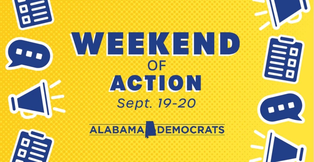 weekend of action flyer